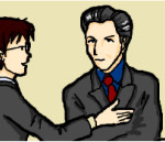 №3 部長と課長が同席しているミーティングで、課長が「言った」ことについて話す